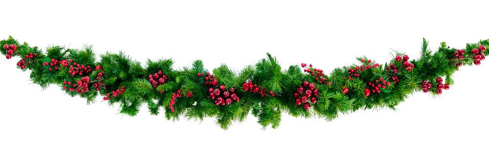 nofussfill.com Christmas garland