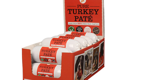 JR Pure Turkey Pate 400g