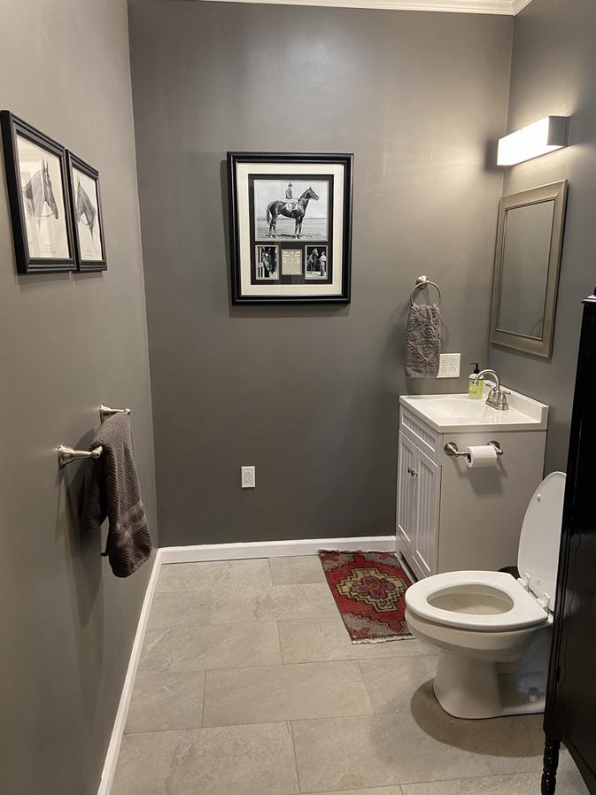 Rider's bathroom