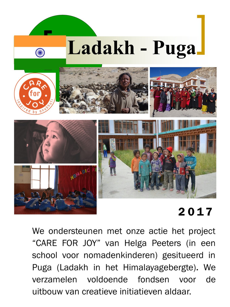 2017 - Puga in Ladakh - Nomaden in de Hi