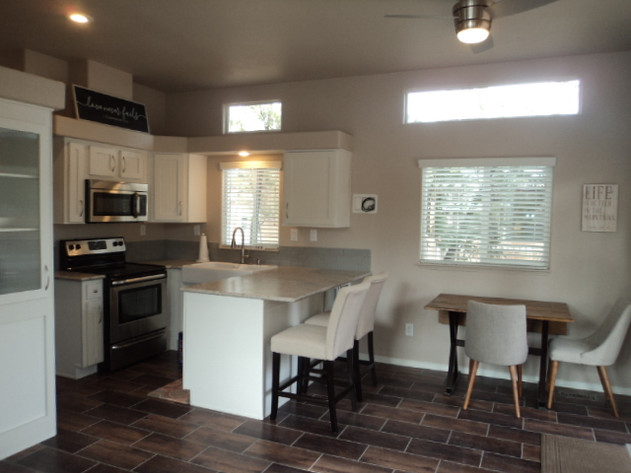 White Cabinetry Throughout