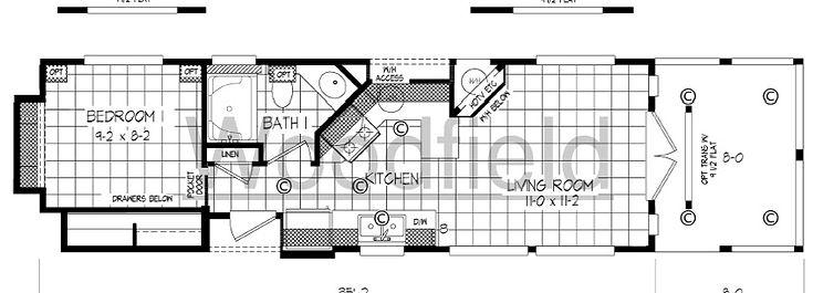 Cabin - Floor Plan