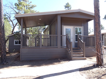 Wrap around porch and shed