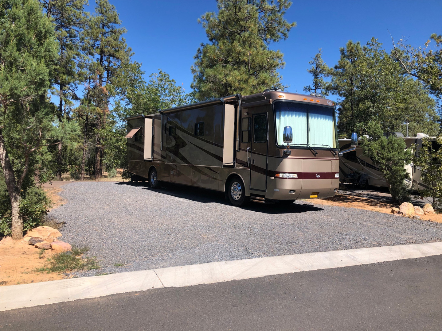Wide Spaces for Your RV