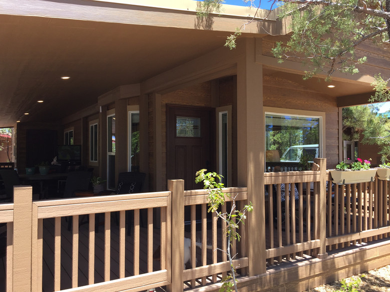 Woodfield Cabin with Optional Deck Addition