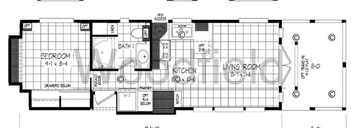Cottage - Floor Plan