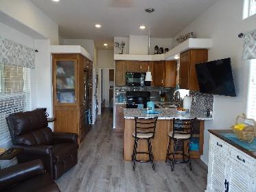 Cottage living area