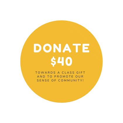 $40 Game Night Donation