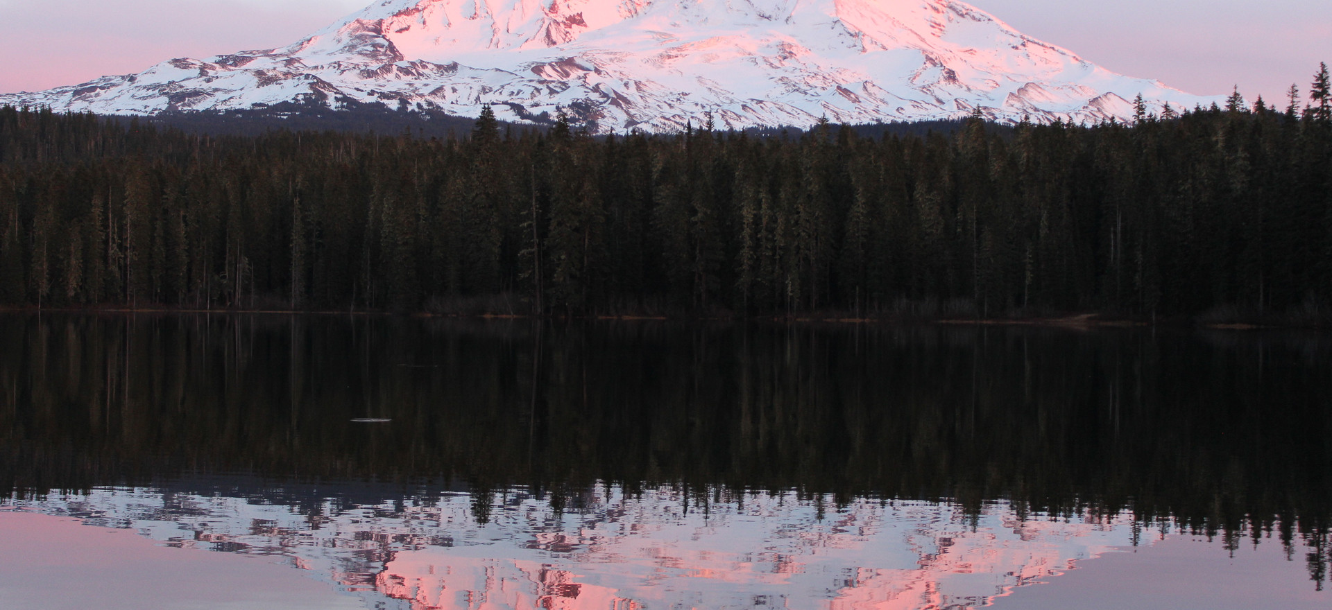 Mt. Adams over Takhlakh Lake