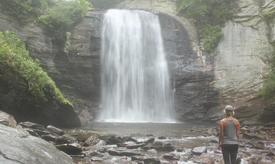 Looking Glass Falls, North Carolina