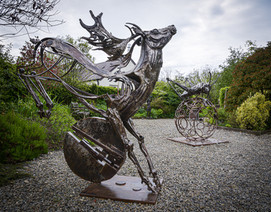 Sculpture by Chris Crane