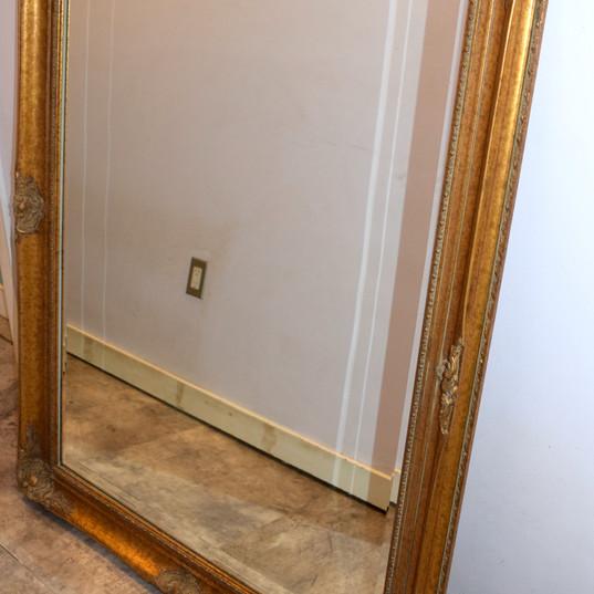 Smaller Gold Mirror