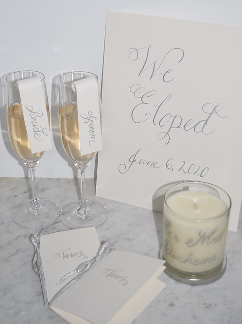 Elopement Package - Neroli Candle