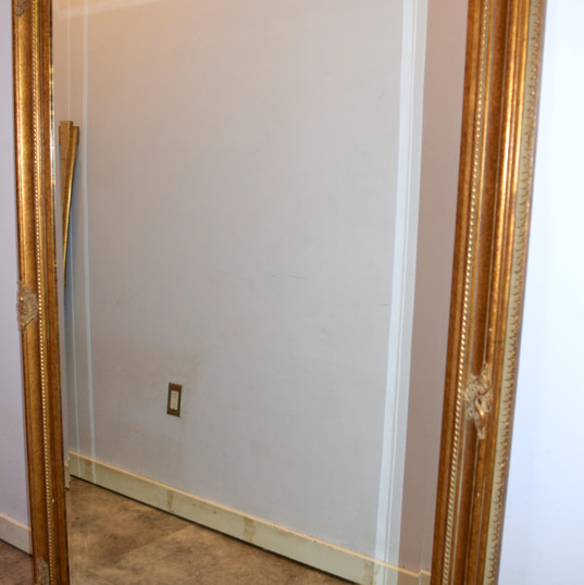Larger Gold Mirror