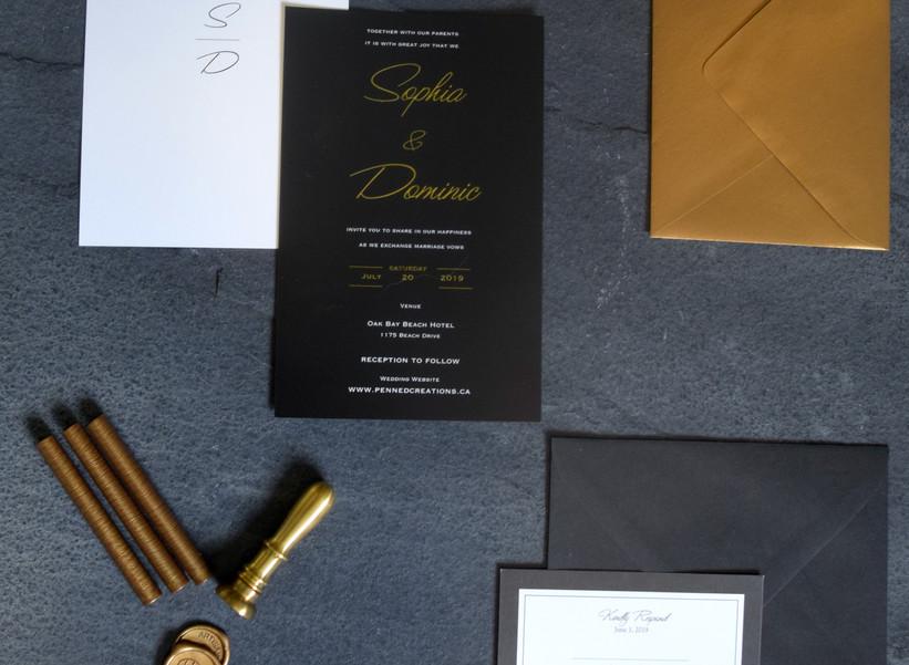Gold Foil Suite