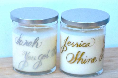 Custom Message Candle - Neroli