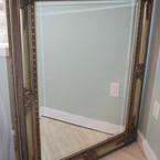Light gold leaf Mirror