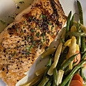 Grilled Norwegian Salmon with Herbed Butter
