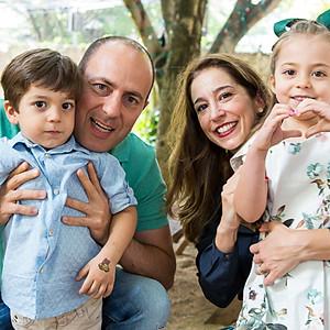 Aniversário de 3 anos do Rafael e 5 anos da Laura