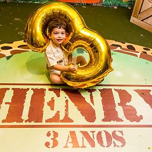 Aniversário de 3 anos do Henry