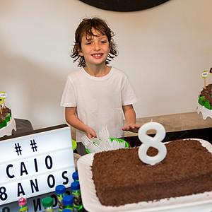 Aniversário de 8 anos do Caio