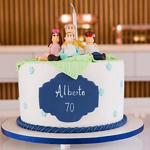 Aniversário de 70 anos do Alberto