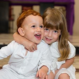 Aniversário de 3 anos da Chloé e Batizado do Valentin