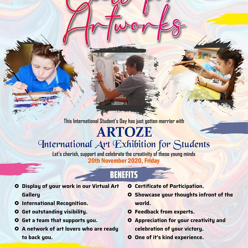 World Student's Day - ARTOZE International Online Art Exhibition - Call for Artworks