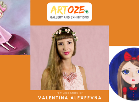 """Inspire and Empower"" - Featured Artist - Valentina Alexeevna"
