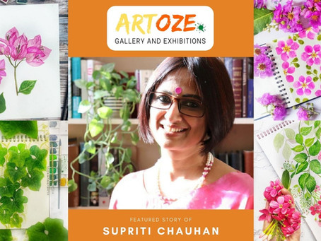 """Inspire and Empower"" - Featured Artist - Supriti Chauhan"