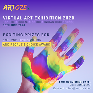 ARTOZE International Online Art Exhibitions