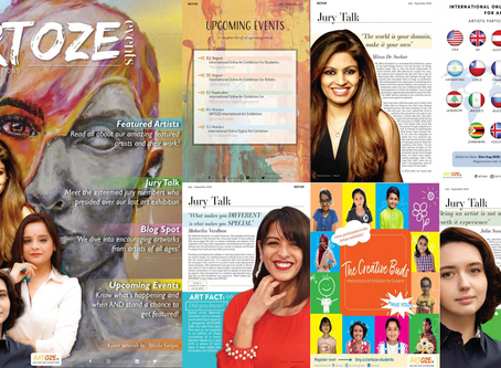 ARTOZE International Art Magazine - Edition: July-Sept, 2020