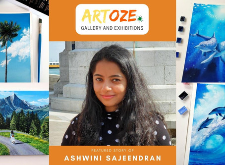 """Inspire and Empower"" - Featured Artist – Ashwini Sajeendran"