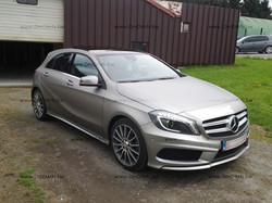 Mercedes New ClassA - carwrap Alu Metal Mat by DmdArts be 19.jpg