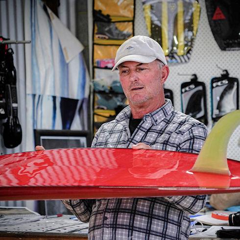 Nick Stranger Shaped Surfboard