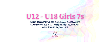 Girls 7s U12, U14, U16 & U18 FB Event Ti