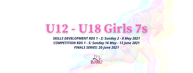 Girls 7s U12, U14, U16 & U18 FB Event Ti