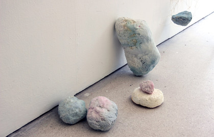 froth rocks