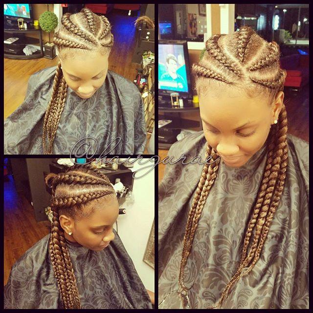 Goddess braids #hairbythegurae #hairguraehair #xquisitebarberbeauty #sanantoniohairsalon #sanantonio