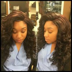 lace closure #hairbythegurae #realhairstylistofsa #realhairstylistsofsa #sanantoniohair #sanantonio