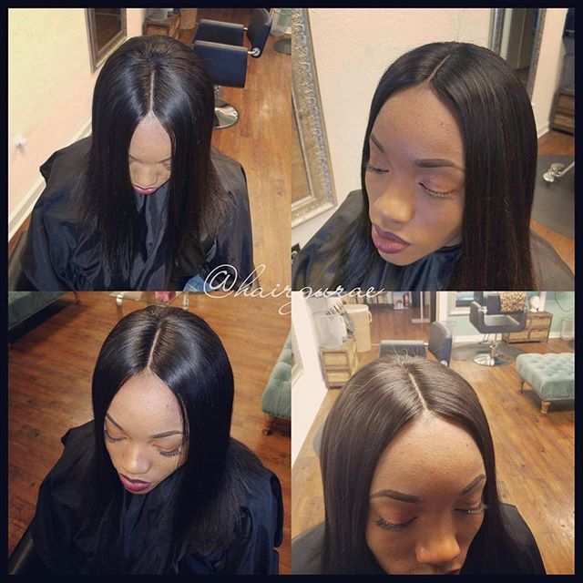 Silk closure and full sew in!!! #sanantoniostylist #sanantoniosewins #sanantoniohair #sanantoniohair