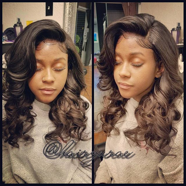 C'mon now frontal!!! Come get you one! #hairbythegurae #hairstylistsinsanantonio #hairguraehair #mil