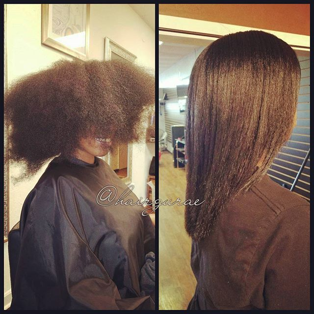The transformation is real! #hairbythegurae #sanantoniohairsalon #sanantoniosalon #sanantonionatural