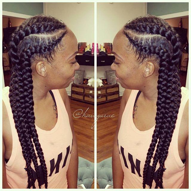 Goddess braids #hairbythegurae #sanantoniostylist #sanantonioextensions #sanantonioweaves #sanantoni