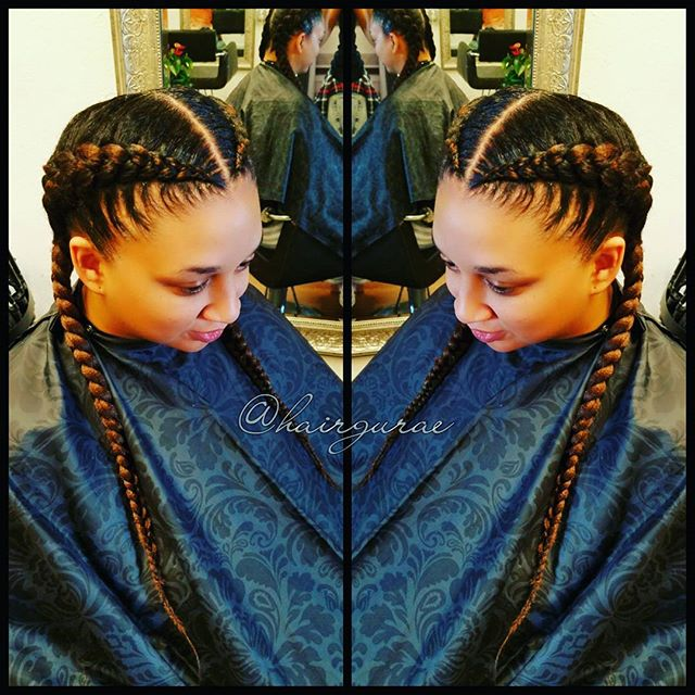 I think this is you guys favorite hairstyle!!!! #goddessbraids #sanantoniohairsalon #sanantoniosalon