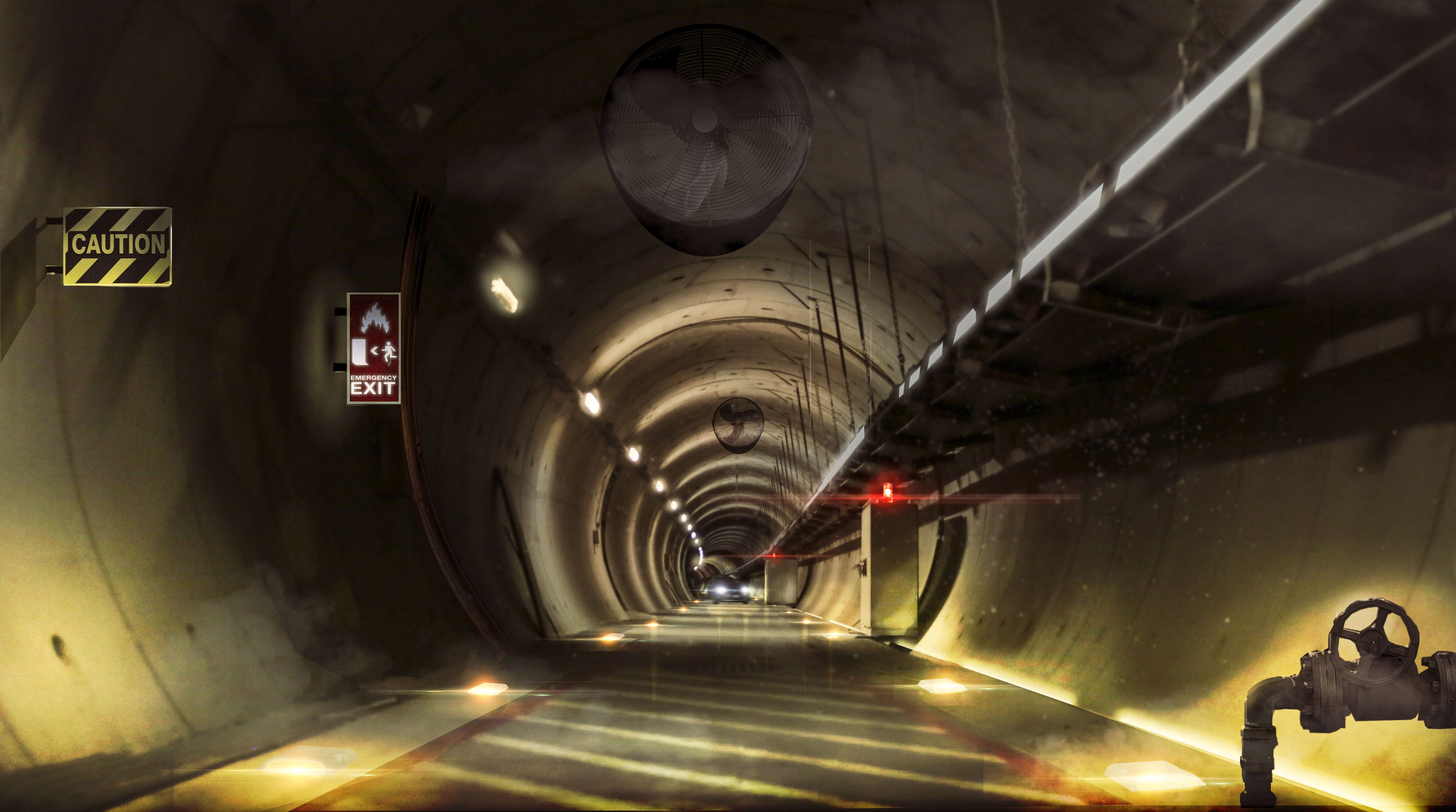 European tunnel design