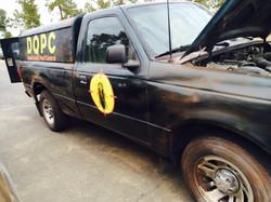 vehicle paint job and logo