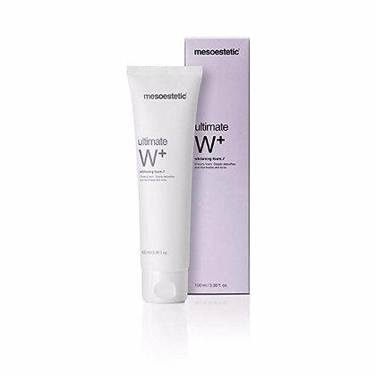 ultimate W+ whitening foam