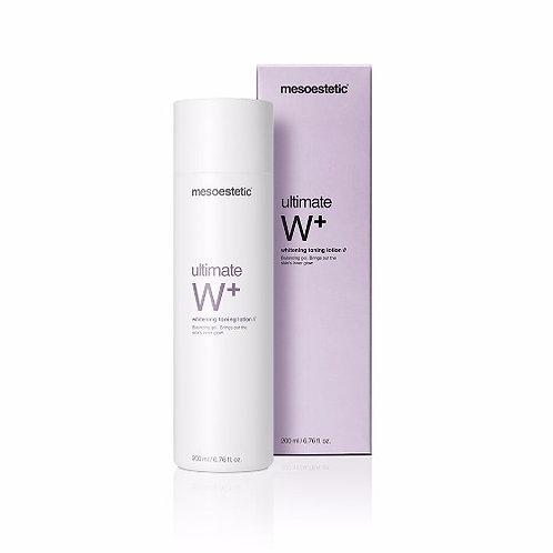ultimate W+ whitening toning lotion