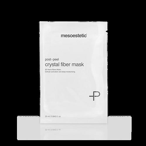 post-peel crystal fiber mask